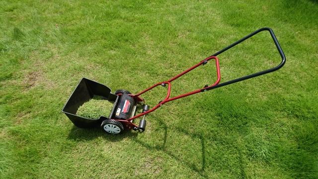 芝刈り機の写真